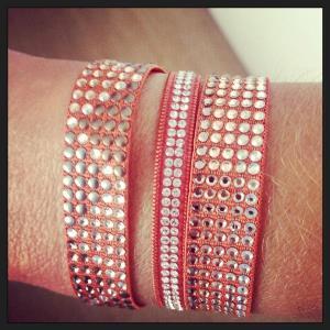 Trio de bracelets en OR3