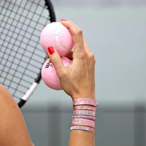 Balles de Tennis Rose