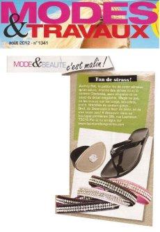 Mode et Travaux Juillet 2012